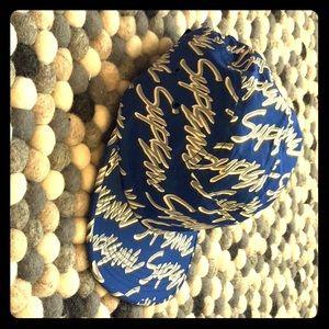 Blue graffiti summer hat (Limited Edition)